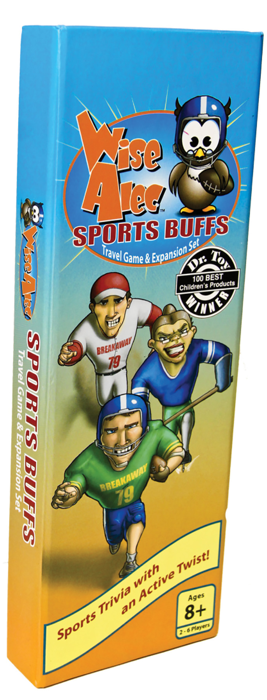 Wise Alec Sports Buffs packaging