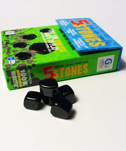5 Stones packaging and contents