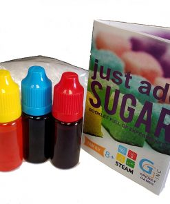 Just Add Sugar Contents 1 - Instructions and colouring
