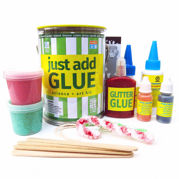 Just Add glue contents