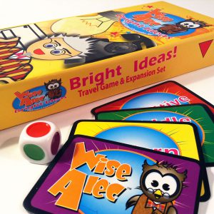 Wise Alec Bright Ideas packaging and contents
